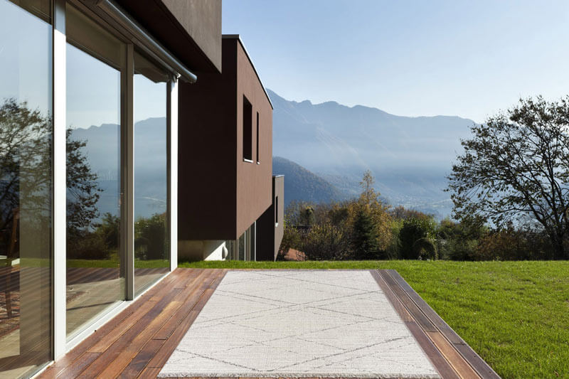 tapis d'extérieur design