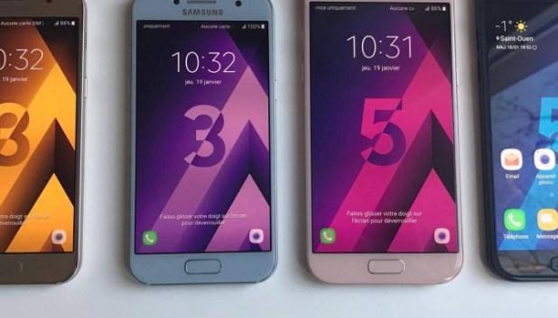 Galaxy A3 (2017) et A5 (2017)