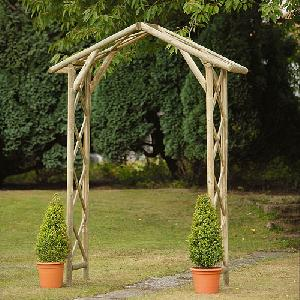 Honeysuckle Arch From Garden Structures Allotment Shop
