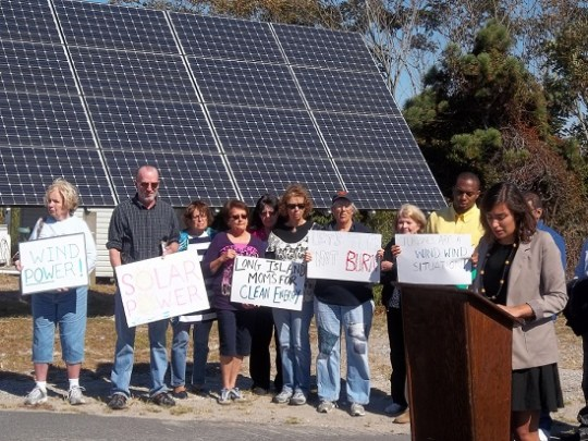 Sierra Club's Emma Boorboor leads the days events