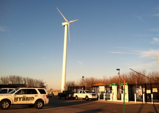 T.O.H. wind to hydrogen station