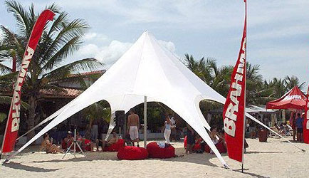 Outdoor Shade Canopy  Flexible  Portable  Affordable Eye grabbing event tent at canopymart com