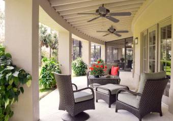 setting up your outdoor fan