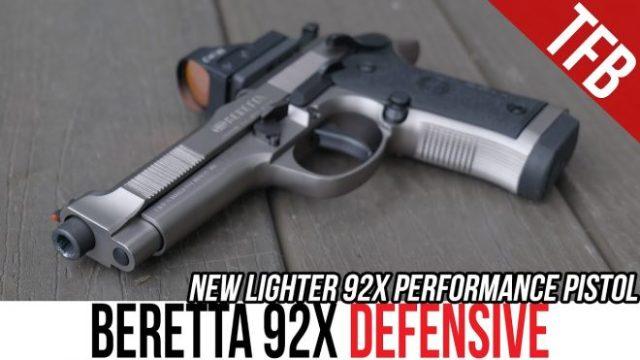 TFBTV: NEW Beretta 92X Defensive Performance Pistol (ft. JJ Racaza)