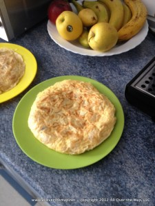 Spanish home cooking - the Spanish tortilla