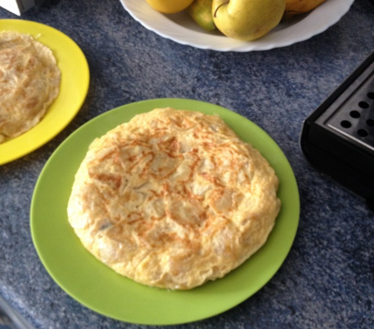 Home cooking all over the map – the Spanish tortilla