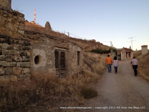 Family wine caves in Dueñas