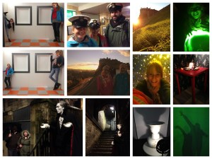 Camera Obscura, Cadies and Witchery Tours, Royal Yacht Brittania, Edinburgh