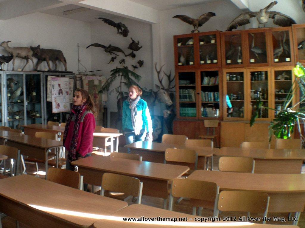 Visiting Zsolt's biology lab