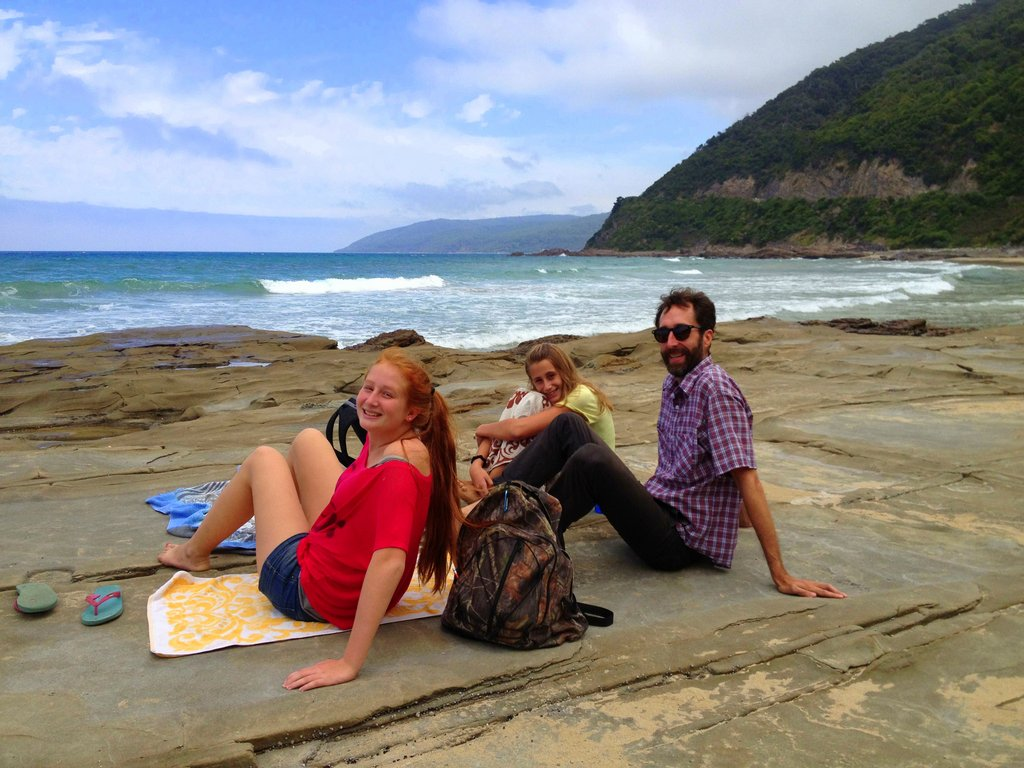 Picnic along the Great Ocean Road