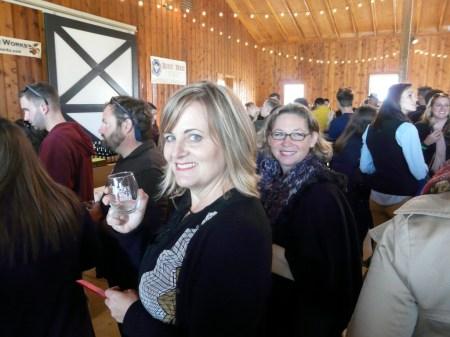 Enjoying cider at Ciderfest VA