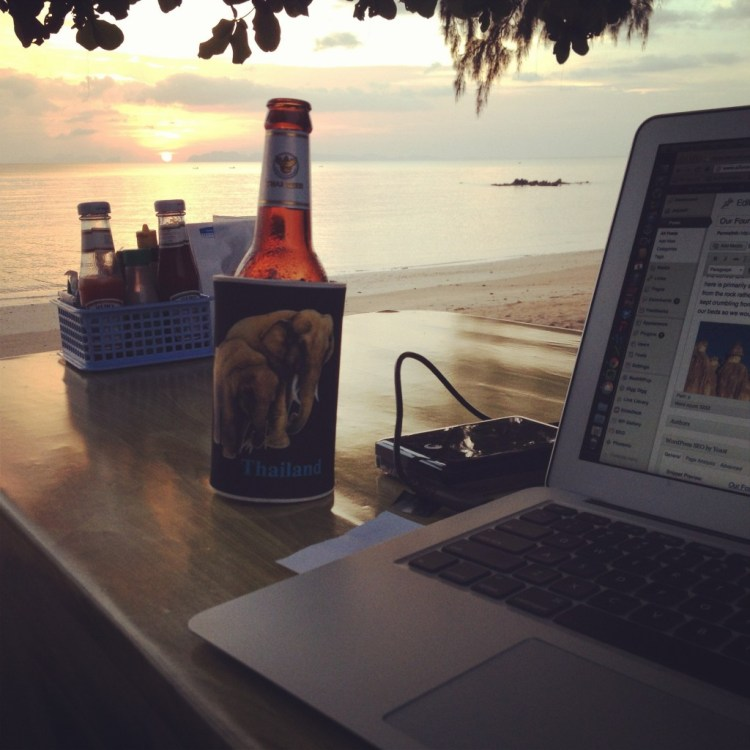 My office on Koh Jum