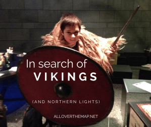 Title photo for in search of Vikings and Northern Lights - Iceland with kids