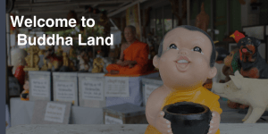 welcome to buddha land - skip the tattoo