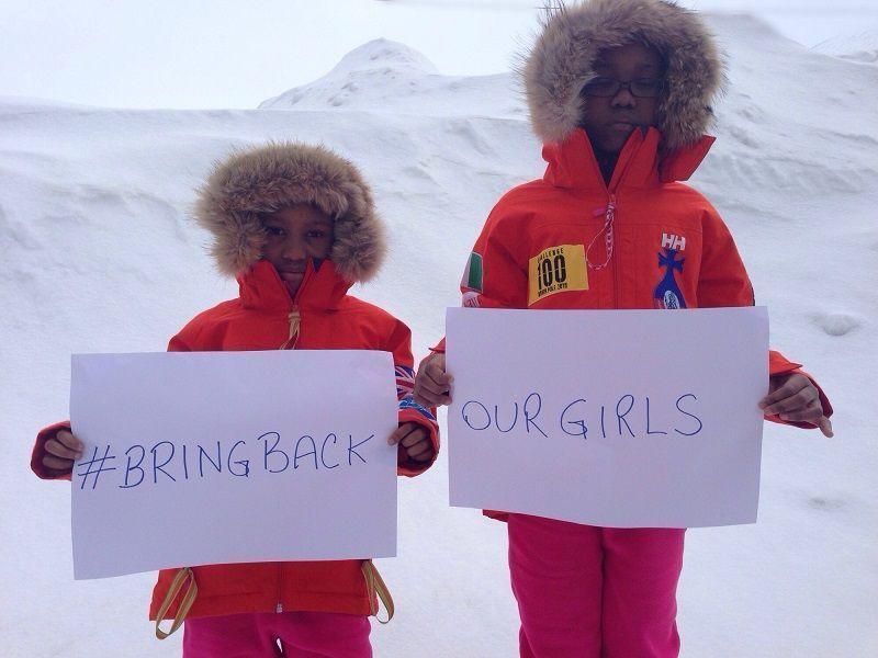 A Family North Pole Adventure Raises Awareness of Nigeria's Lost Girls