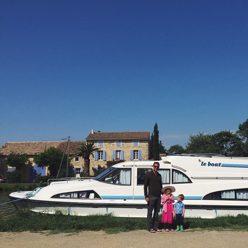 Le Boat in the Canal du Midi
