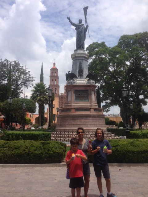 In Dolores de Hidalgo, we learned that Mexico has a history and good ice cream.