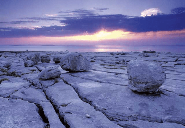 The Burren on Ireland's Wild Atlantic Way with Kids. Photo Credit: Mike Brown. Used with permission.