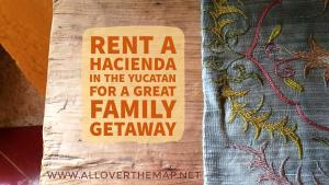 Rent a hacienda in the Yucatan for a great family getaway - www.alloverthemap.net