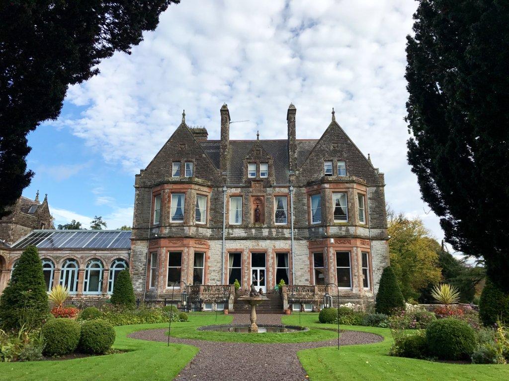 Castle Leslie in Glaslough Ireland