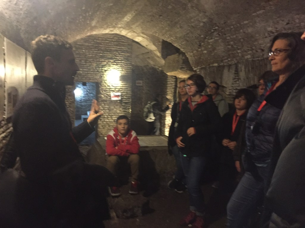 Walking Bones – Catacombs Tour with Kids