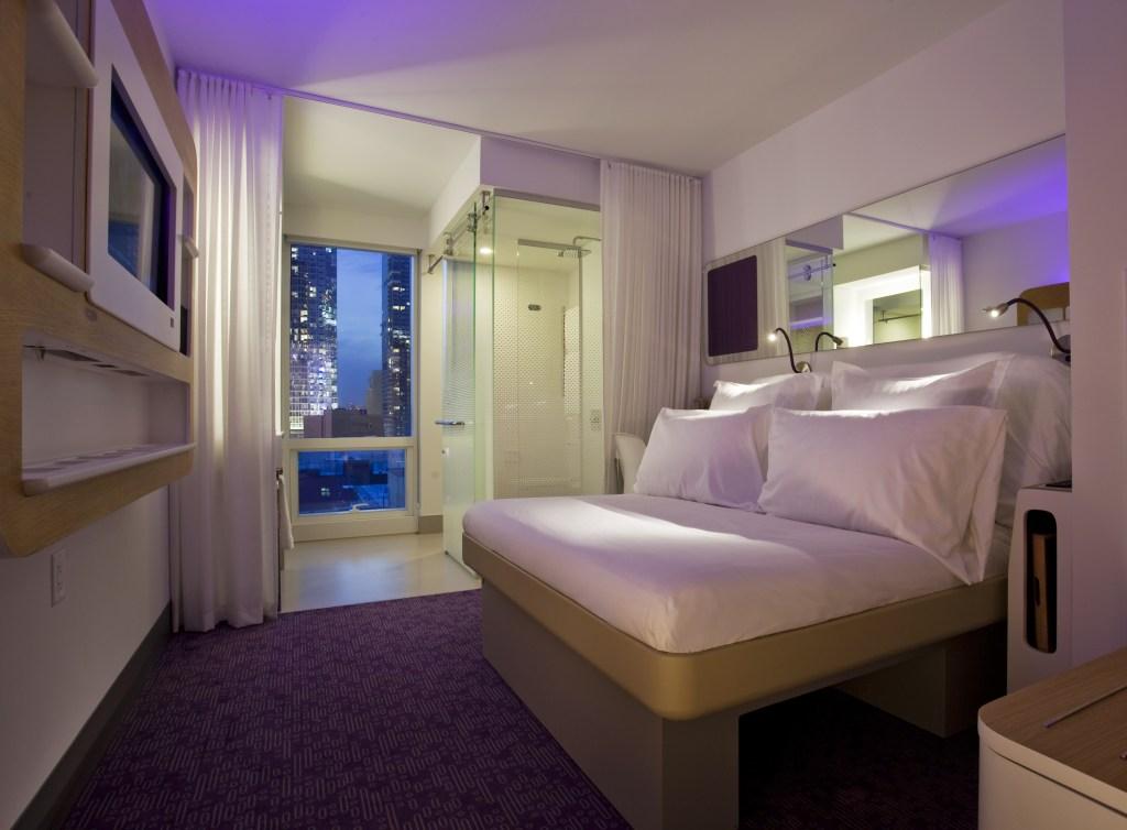 Yotel room size