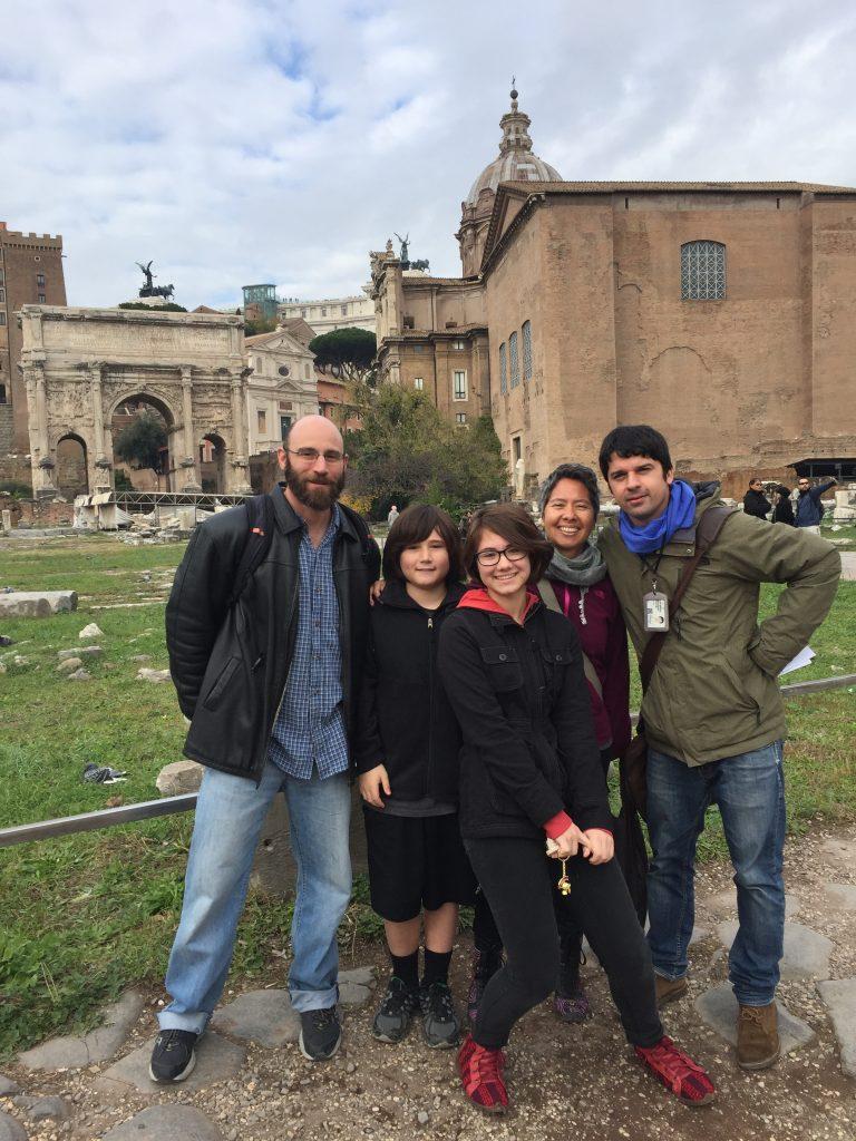 Kids Tour of Roman Forum