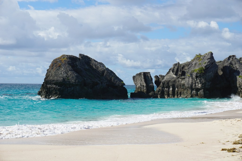 Bermuda's blue water