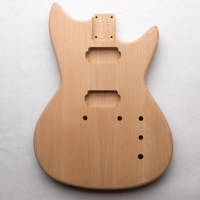 Custom Double Cut Alder Guitar Body