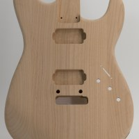 Alder Humbucker Routed S-Style Unfinished Guitar Body