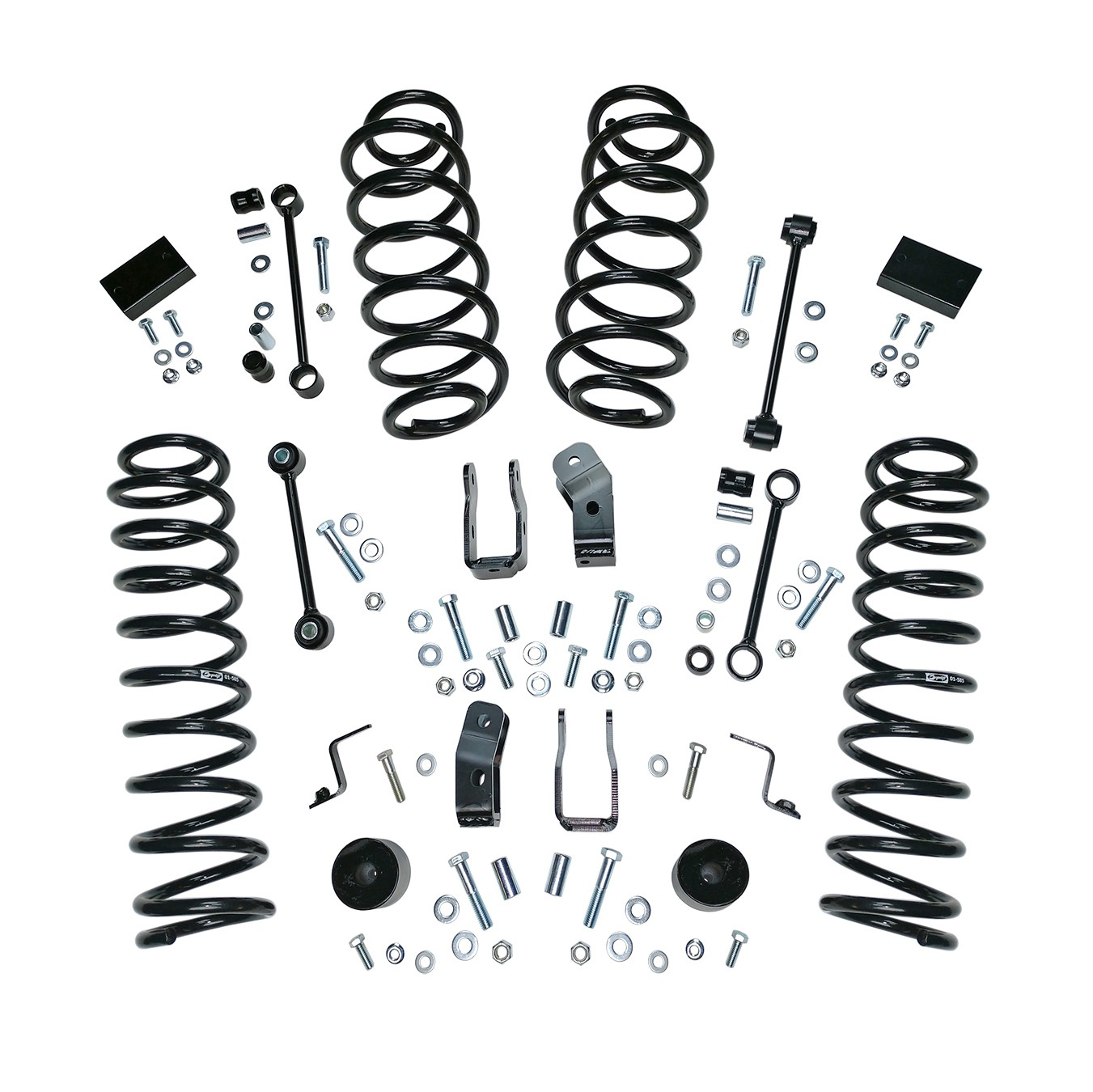 Suspension Lift Kit 2 5 Inch 18 19 Wrangler Unlimited