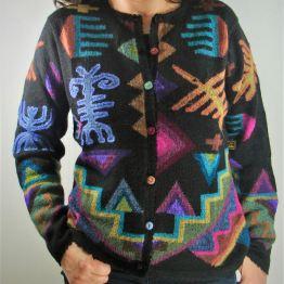 Gilet pour femme en laine d'alpaga