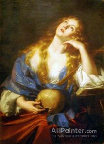 Nicolas Regnier Penitent Mary Magdalene Oil Painting Reproductions ...
