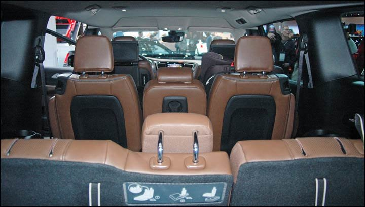 Pacifica front seats