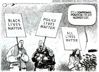 All Lives Matter Cartoon
