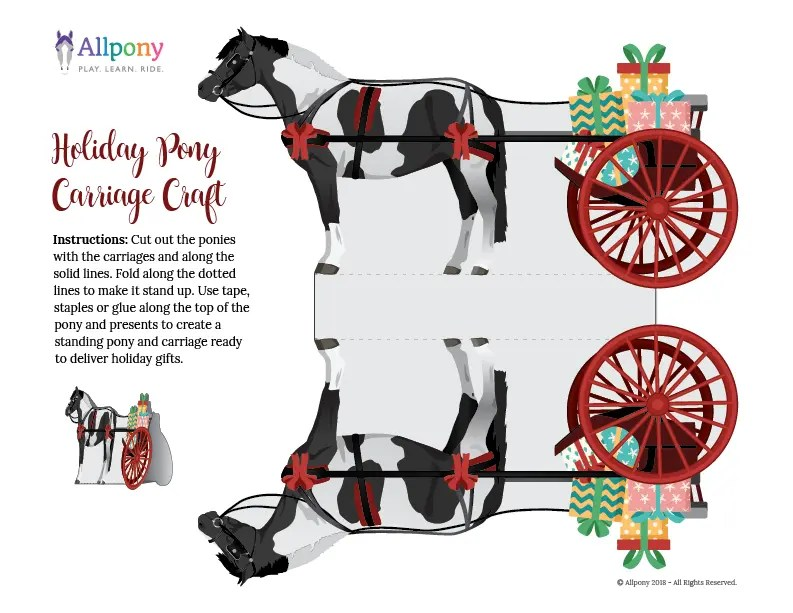 allpony carriage holiday craft