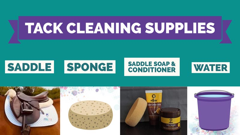 tack cleaning supplies
