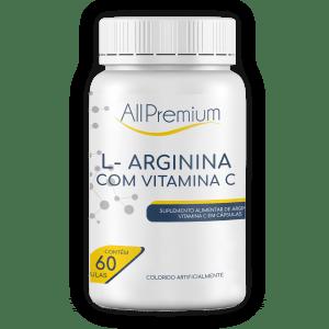 L Arginina com Vitamina C
