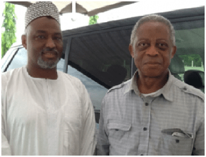 Salim Farouk and Dr. S. Okechukwu Mezu in Abuja- US Delegates to CPC Dissolution Convention