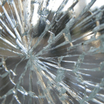 Broken Shop door glass Northern ireland toughened door glass emergency glazing northern Ireland Derry City domestic window glass
