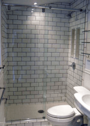 Bath room glass in donegal and the North West of ireland derry city and northern ireland