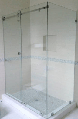 Besboke floor to celing Glass shower enclosure Derry ity