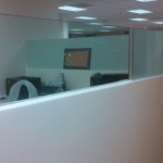 Simple Glass Partitions office fit outs brighten up office space creating light modern office fit out glass ireland