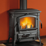 Black Glass circle glass stove wood buring fire place floor pannel glass hearth online in UK and ireland glass online
