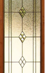 Decourative house glass Beveled door panel deisgned and manufactured install across ireland by art glass and all purpose glazing