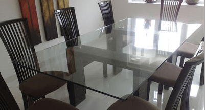 Glass table top furniture in Derry City northern ireland