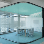 Irish Bent Curved Glass glazier ireland bent curved glass partitions office fit out architectural bent safety glass ireland