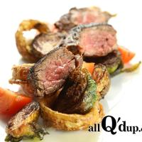 Tri Tip with Deep Fried Brussels Sprouts