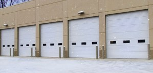 Insulated commercial overhead doors