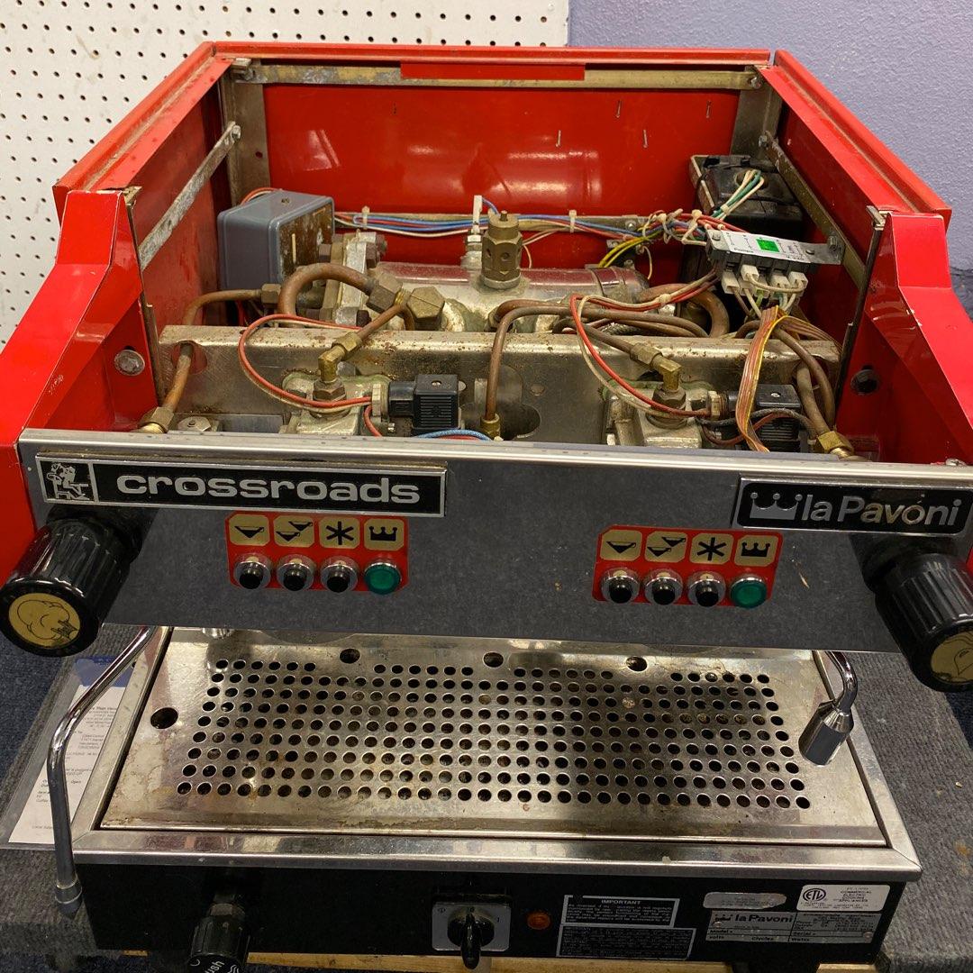 LaPavoni crossroads espresso machine repair LaPavoni espresso machine disassembly top